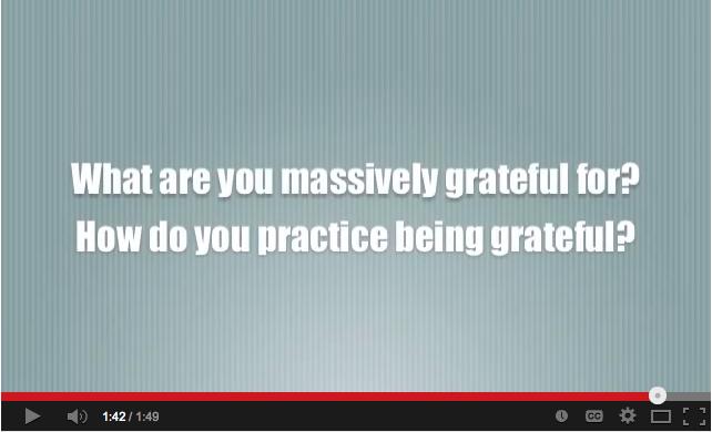 Massive Gratitude Continues